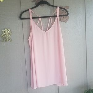 Simply Styled peach tank top